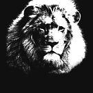 Lion, Jesus Christ, silhouette by Gladwigshausen