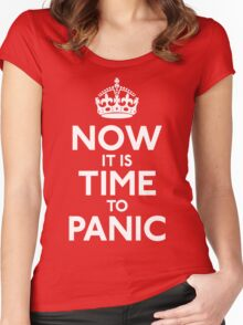 Now IT Is Time To Panic Women's Fitted Scoop T-Shirt