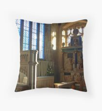 Lady Chapel, St Mary, Goudhurst Throw Pillow