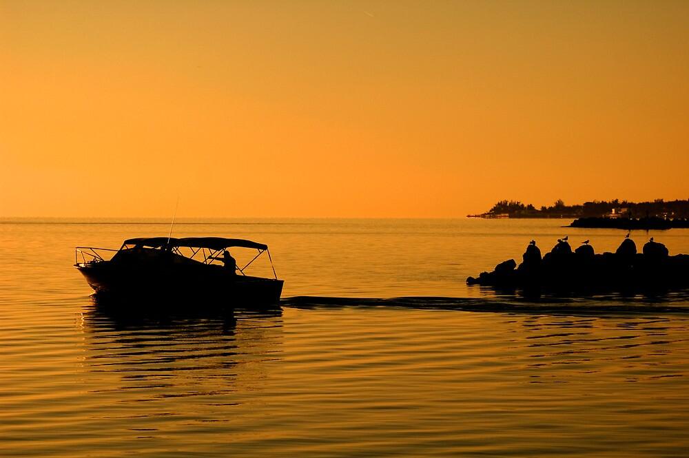 Morning Voyage, Nassau, Bahamas by Shane Pinder