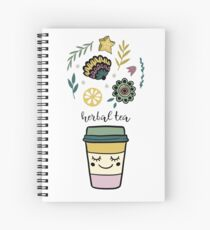 Herbal tea Spiral Notebook