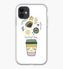 Herbal tea iPhone Case