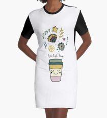 Herbal tea Graphic T-Shirt Dress