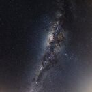 Milkyway over Serpentine Dam, Armadale W.A. by Sandra Chung