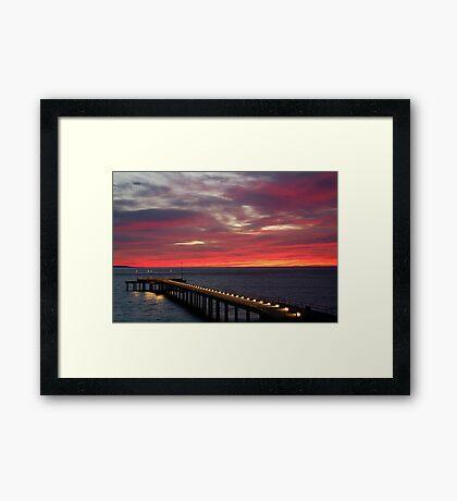 Sunrise Lorne Pier, Great Ocean Rd Framed Print