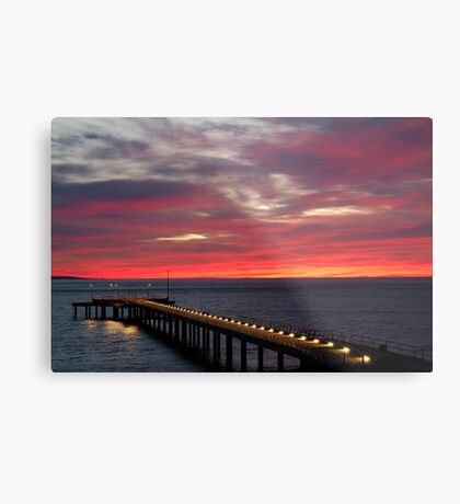 Sunrise Lorne Pier, Great Ocean Rd Metal Print