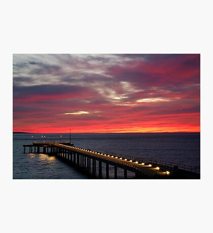 Sunrise Lorne Pier, Great Ocean Rd Photographic Print