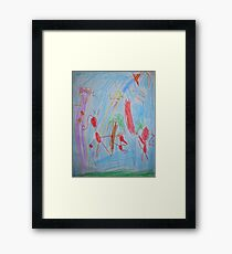 Phineas and Ferb Framed Print