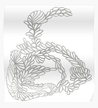 Pencilled Loopies Poster