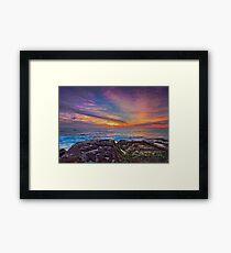 Colours of the Rainbow Framed Print