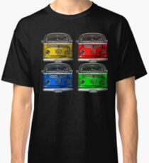 Multi colors Volkswagen kombi Classic T-Shirt