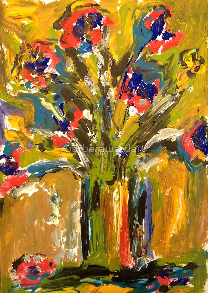 Flowers by barbarawardart