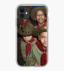 Troop 446 Boy Scouts meeting in Chicago, 1942 iPhone Case