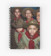 Troop 446 Boy Scouts meeting in Chicago, 1942 Spiral Notebook