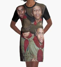Troop 446 Boy Scouts meeting in Chicago, 1942 Graphic T-Shirt Dress