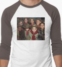 Troop 446 Boy Scouts meeting in Chicago, 1942 Baseball ¾ Sleeve T-Shirt