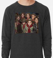 Troop 446 Boy Scouts meeting in Chicago, 1942 Lightweight Sweatshirt