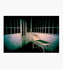 Blue asylom Photographic Print
