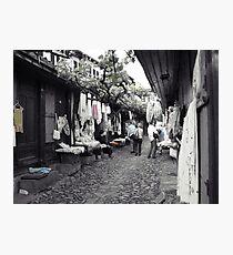 Shopping in Safranbolu. Photographic Print