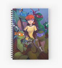 TMNT Team 5 Spiral Notebook