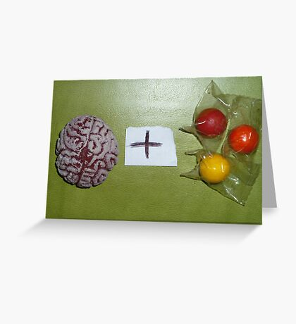 01-11-11  Brain Candy Greeting Card