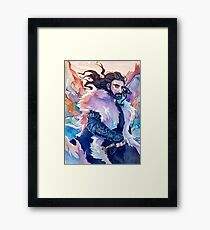 The King Under The Mountain Framed Print