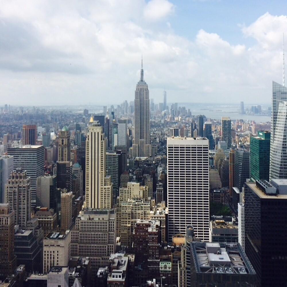 New York Skyline by thissickbeat