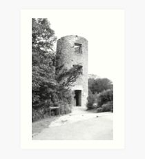 Keepers Tower, Blarney Castle Art Print