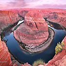 Dawn Upon Horseshoe Bend by Gregory Ballos