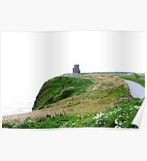 O'Briens Tower, Cliffs of Moher, Ireland Poster