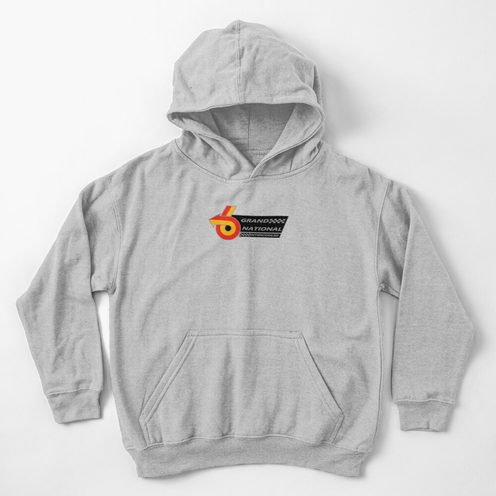 Grand National Intercooled Decal Kids Pullover Hoodie
