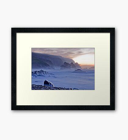 Port sundown glencolmcille Framed Print