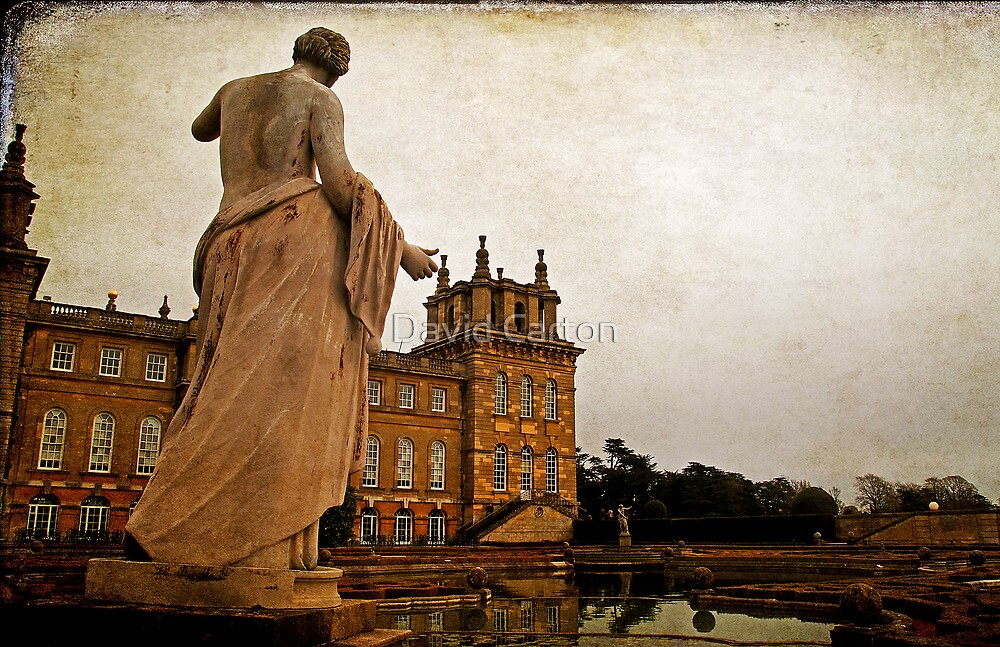 Statue at Blenheim Palace, Oxfordshire, UK by David Carton