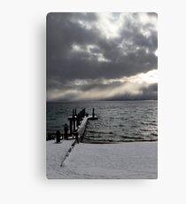 Tahoe Snowstorm Canvas Print