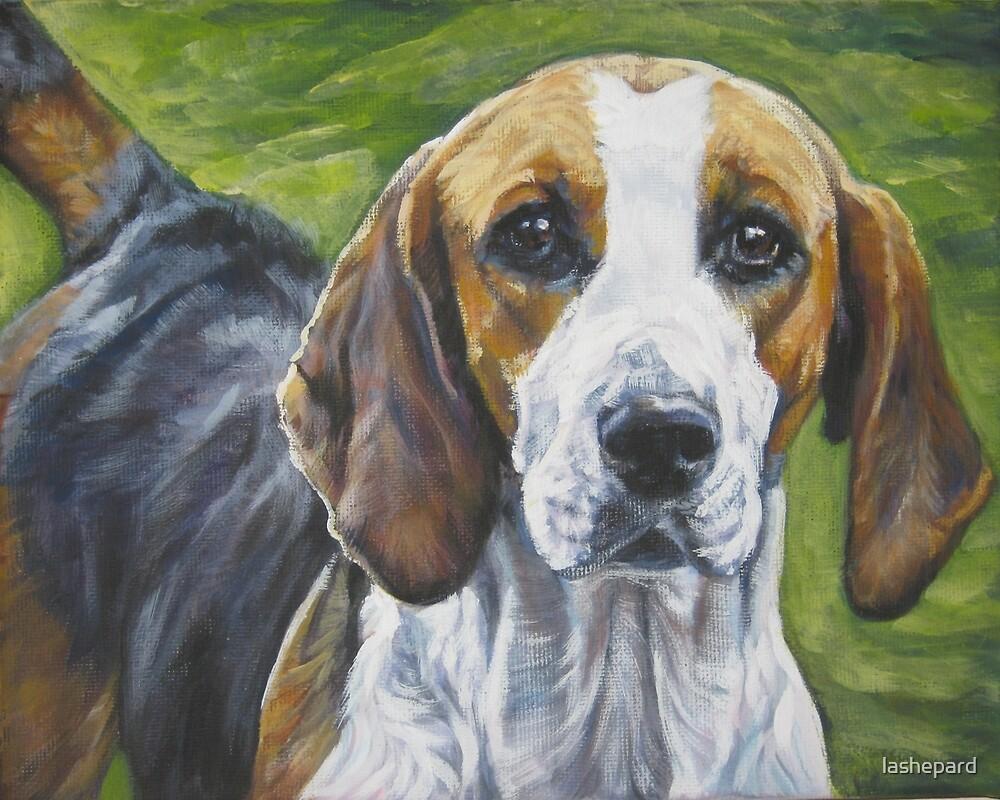 English Foxhound Fine Art Painting by lashepard