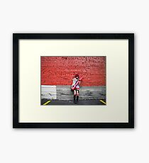 Reign of Red Framed Print