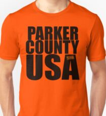 Sand Dollar Rodeo - Parker County USA Slim Fit T-Shirt
