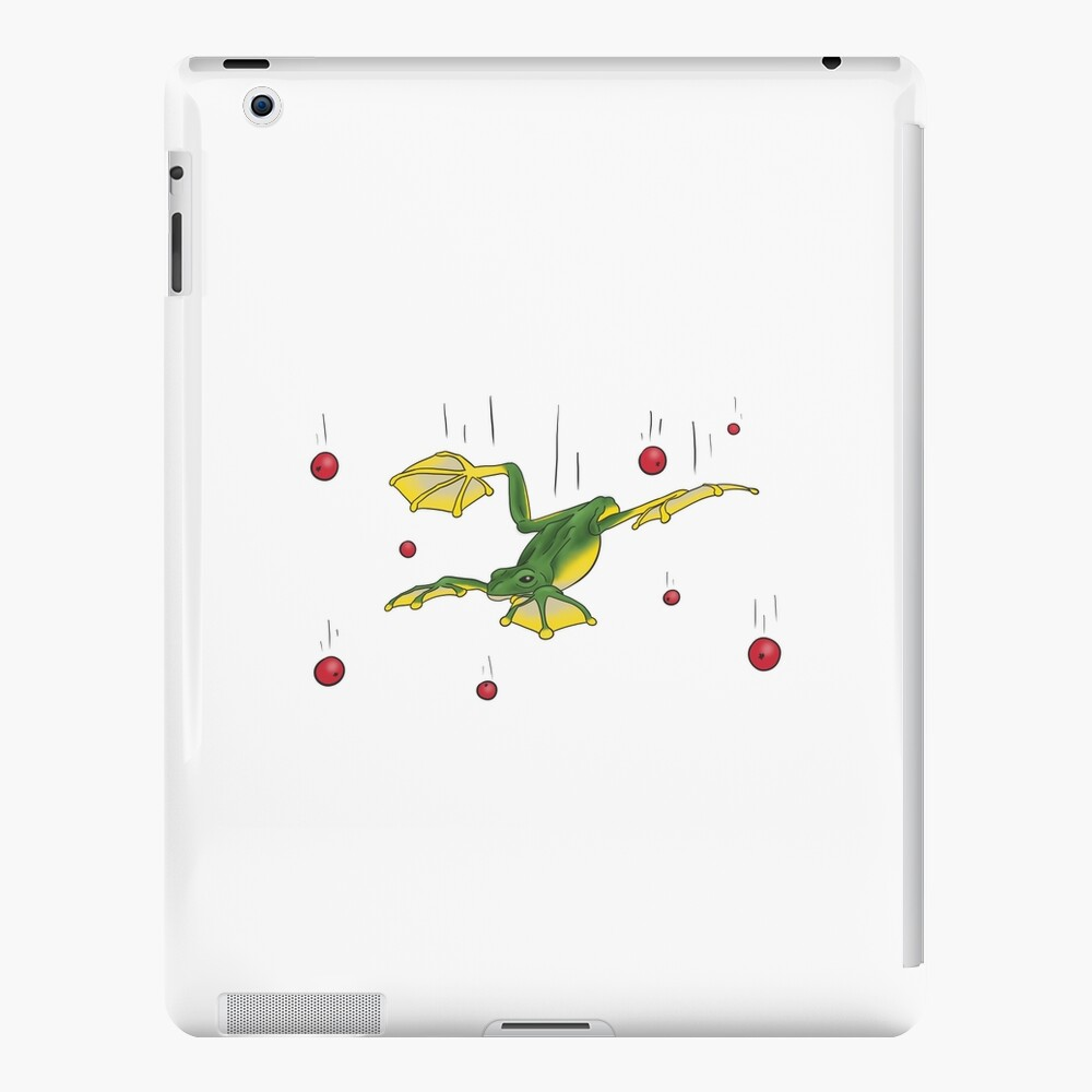 Falling Frog and Cranberries iPad Snap Case
