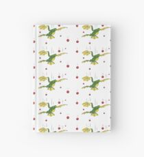 Falling Frog and Cranberries Hardcover Journal