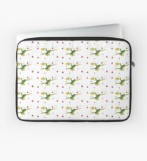 Falling Frog and Cranberries Laptop Sleeve