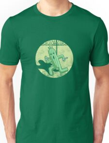 Escape from Cactuar Island- Final Fantasy Parody Unisex T-Shirt