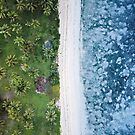Tropical Colours Layers | Aerial Fine Art Photo by The-Drone-Man