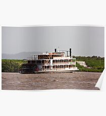 Paddle Steamer Poster