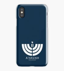 A'HAVAH FELLOWSHIP LOGO iPhone Case