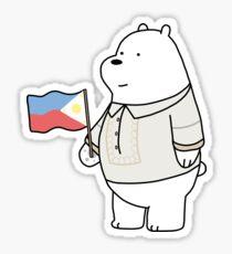 We Bare Bearongs - Ice Bear Sticker