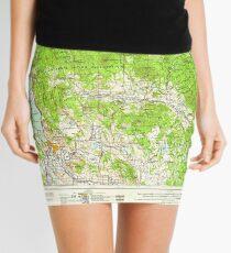 USGS Topo Map Oregon Klamath Falls 283326 1958 250000 Mini Skirt