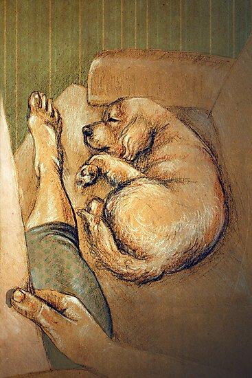 Max and I by Sarah  Mac Illustration
