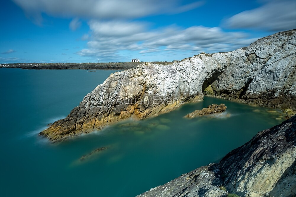 Rhoscolyn Coastline by Adrian Evans