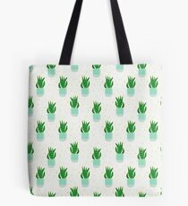 Snake Plant Pattern Tote Bag
