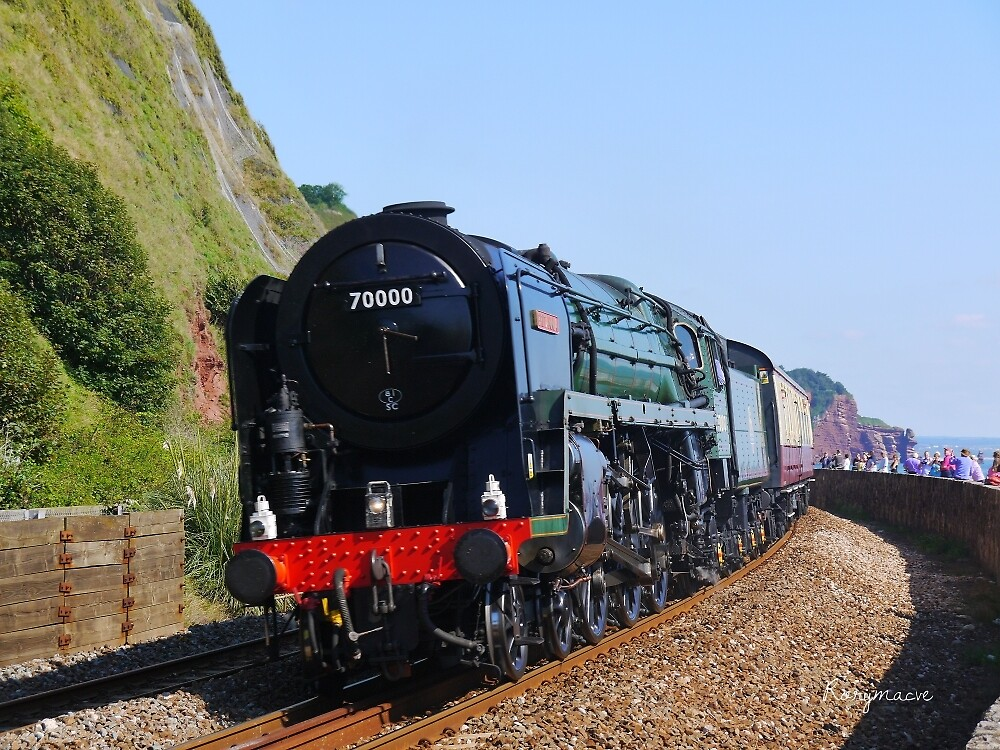British Railways 70000 'Britannia' at Teignmouth by Rorymacve